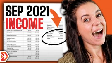 BIG Changes!! September 2021 Income Report