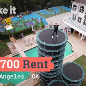 Living In A $43,700/Month Creator House In LA | Unlocked